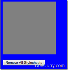 remove stylesheets jquery