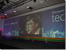 TechEd video featuring Bill Gates