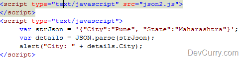 Resolve JSON is Undefined Error in Internet Explorer