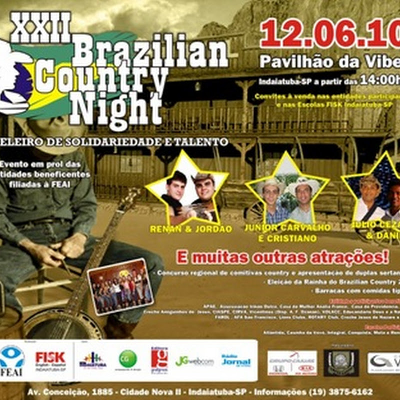 Brazilian Country Night 2010