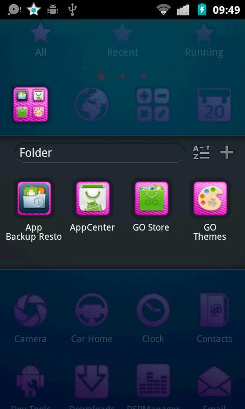 Justin Bieber Go Launcher Them - screenshot
