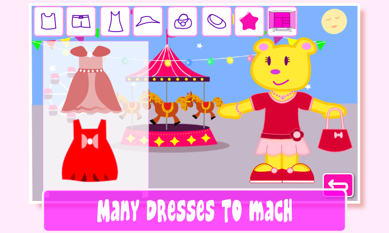 Dress Up Game Pepa Dresses- screenshot