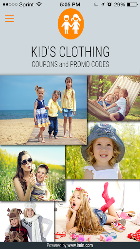 Kid's Clothing Coupons-I'm in