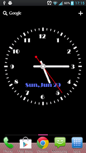 Super Clock Live Wallpaper- screenshot thumbnail