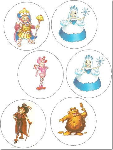 The Daley News Candyland Favors and Cake