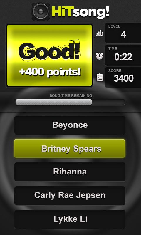 Guess Song Pop Music Game Quiz - screenshot