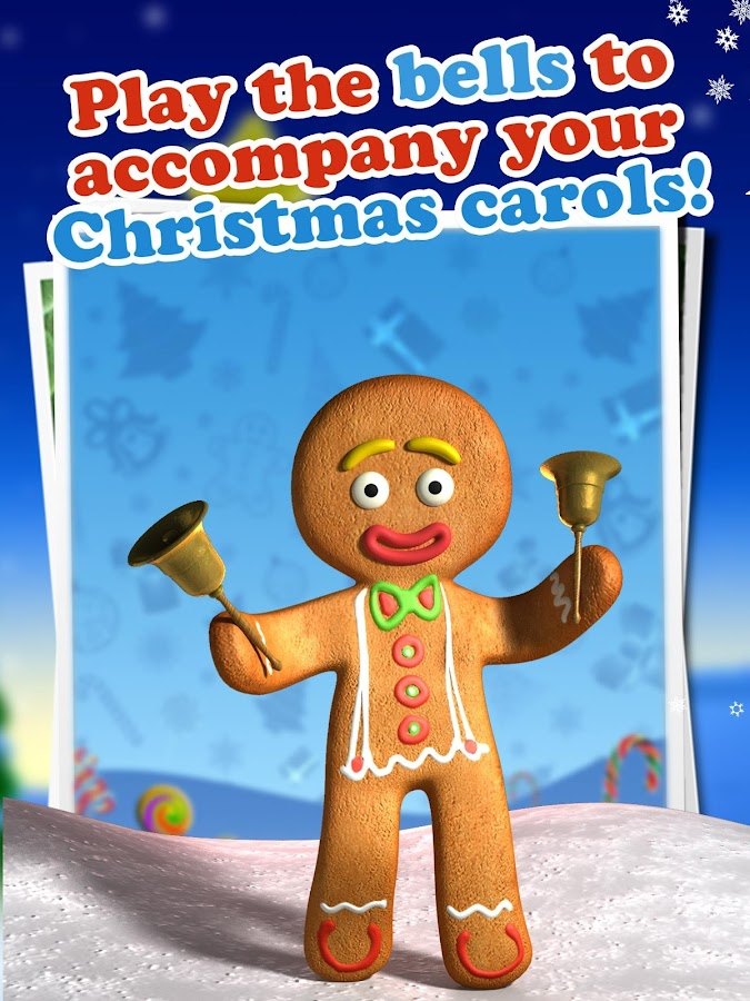 Talking Gingerbread Man Free - screenshot