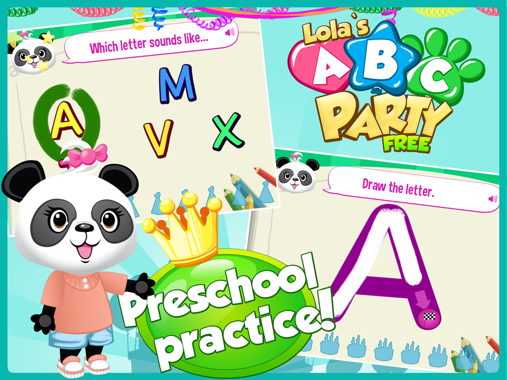 Lola's ABC Party-Learn to Read- screenshot
