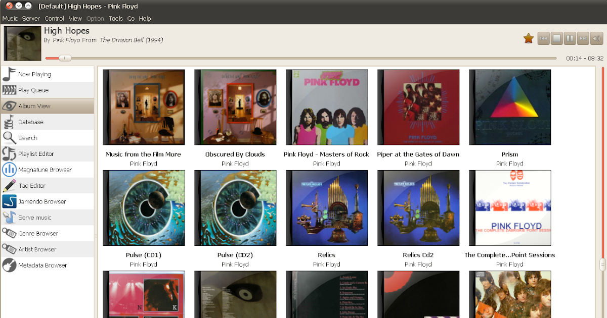 Gnome Music Player Client (GMPC) 0 20 Released ~ Web Upd8: Ubuntu