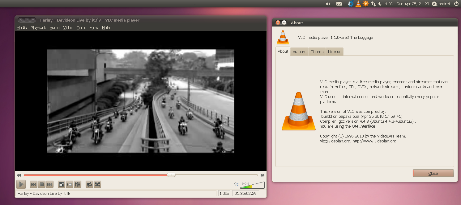 Install VLC 1 1 0 Pre2 In Ubuntu 9 10 Karmic And 10 04 Lucid Via PPA