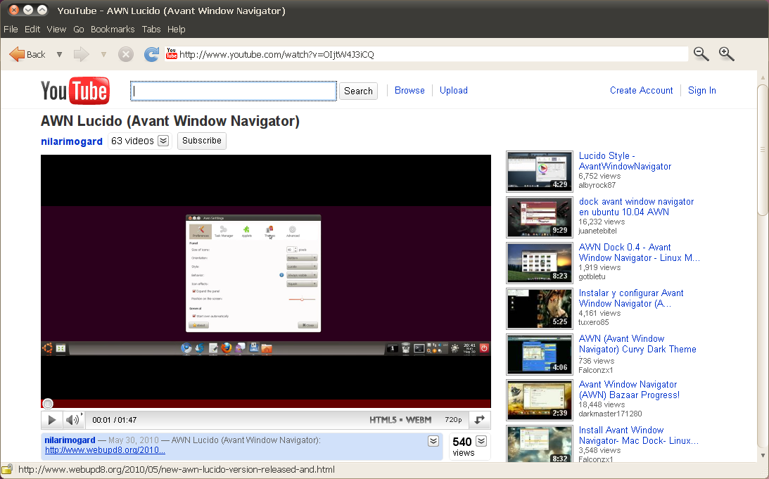 How To Get WebM Support In Epiphany Web Browser ~ Web Upd8: Ubuntu
