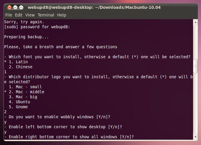 Make Ubuntu Look Like Mac OSX In Seconds Using Macbuntu
