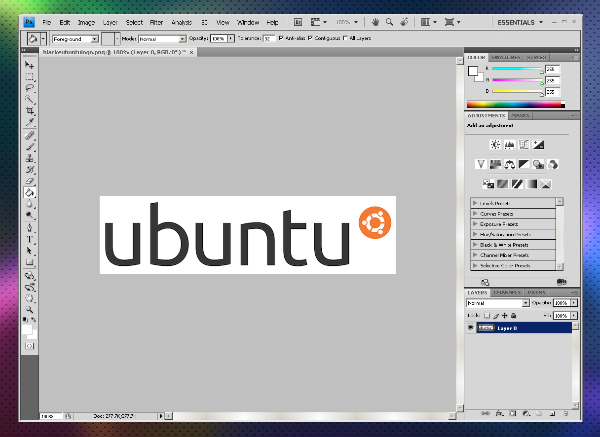 How To Install Photoshop CS4 In Ubuntu (Using Wine And
