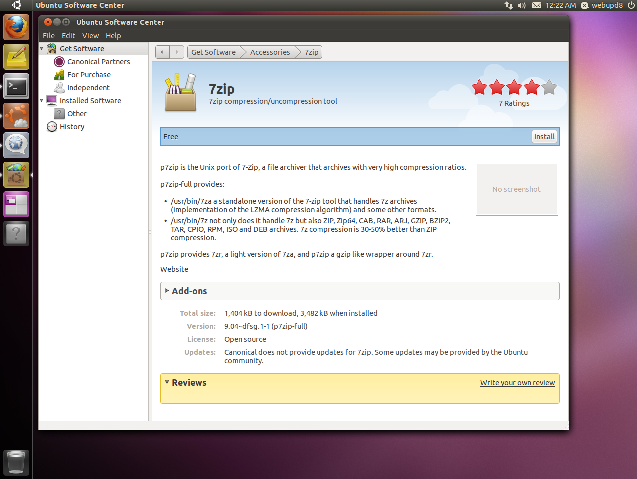 Ubuntu Software Center Gets Ratings And Reviews Support [Natty