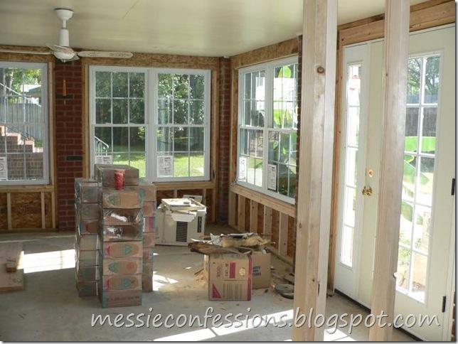 Sunroom (Exterior Wall) - Framing