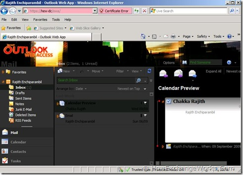 themes in outlook web app owa 2010