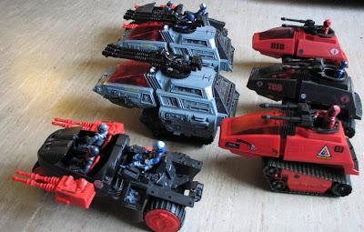 Pbarny S Custom Figures Cobra High Speed Sentry Tank Mark
