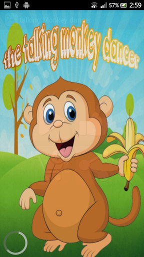 The talking Monkey dancer