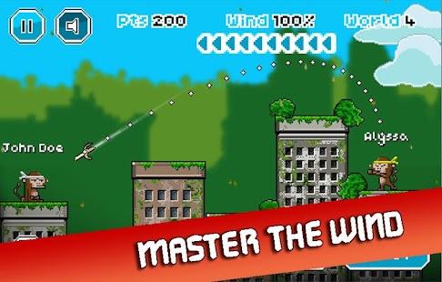 City Monkey: Pixel Artillery Screenshot 2