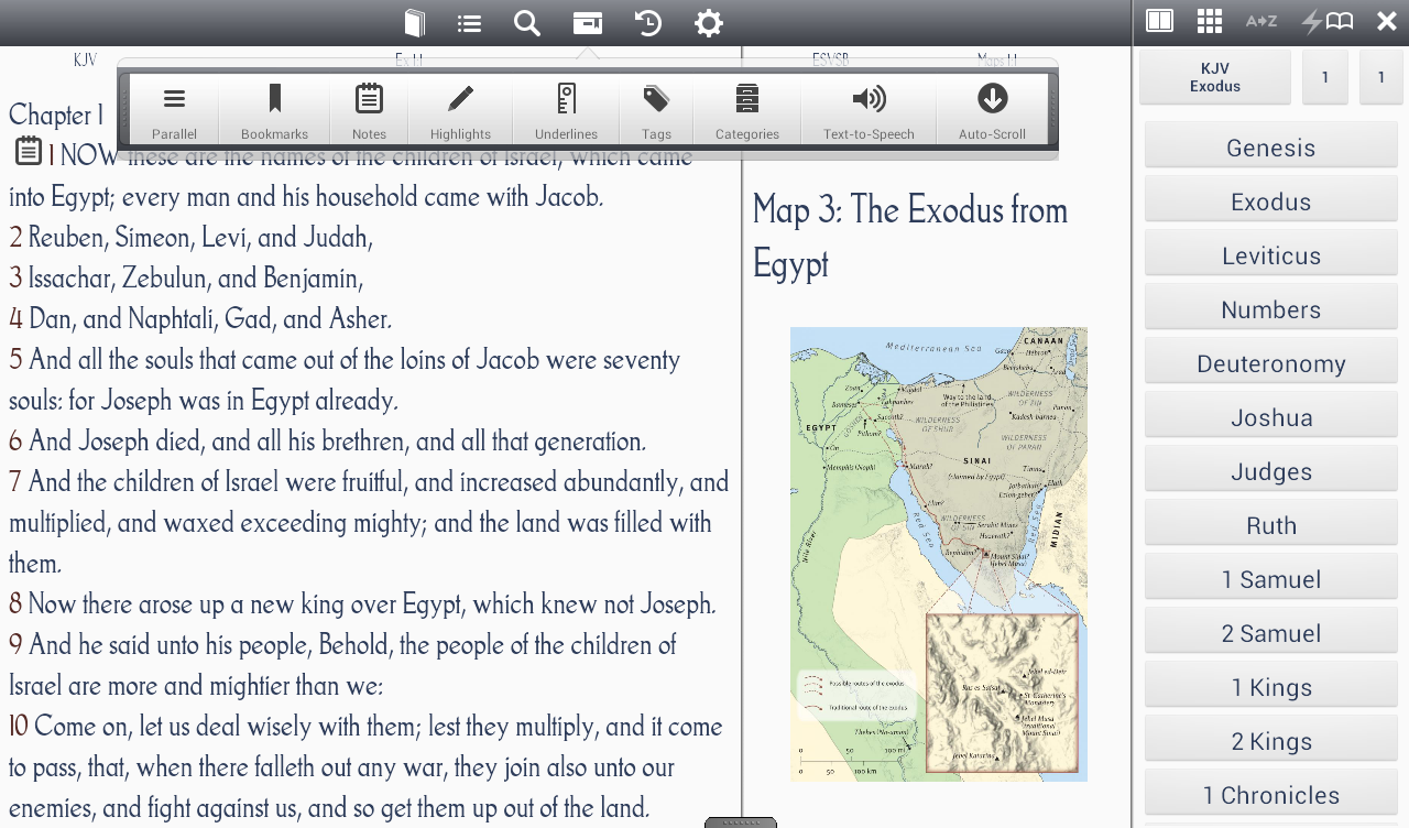 CadreBible - Bible Study App - screenshot