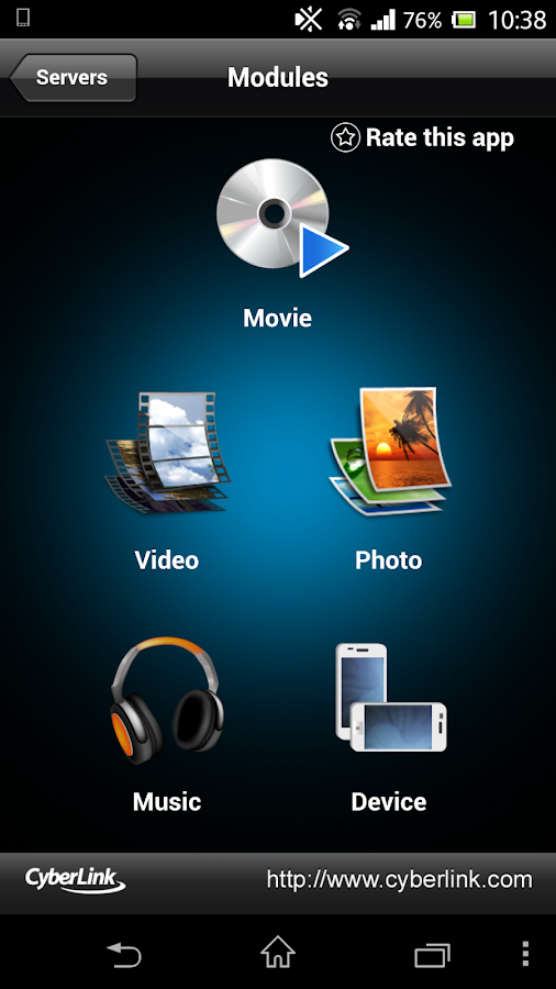 PowerDVD Remote FREE - screenshot