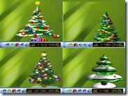 Sfondo natalizio animato per desktop