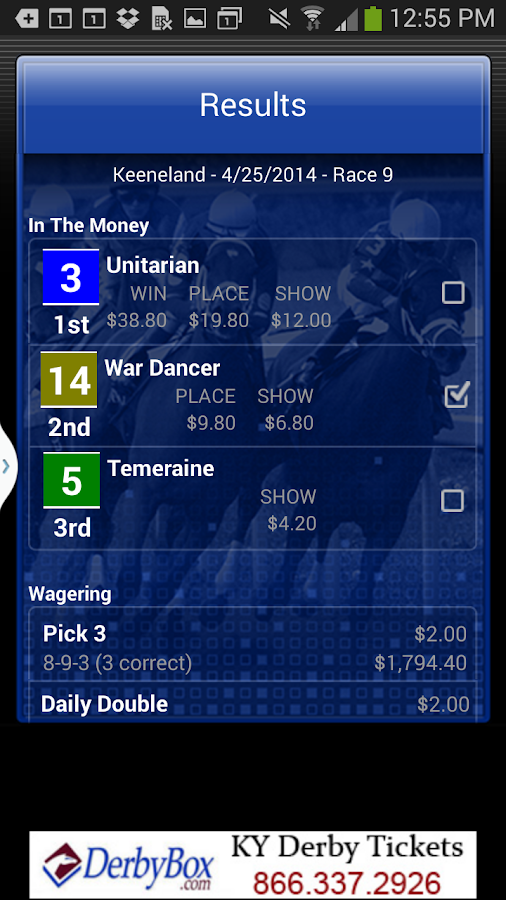 Horse Races Now- screenshot
