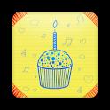 Happy Birthday Text Greetings icon