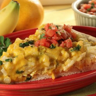 Potatoes and Cheese Bruncheros