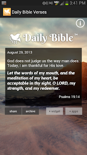 Daily Bible Verses - screenshot thumbnail
