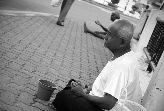 Meditative Beggar