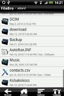 FileBro Lite- screenshot thumbnail