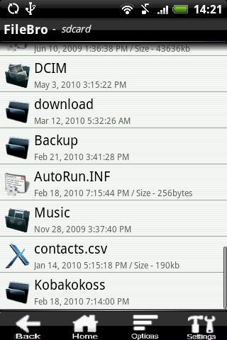 FileBro Lite- screenshot