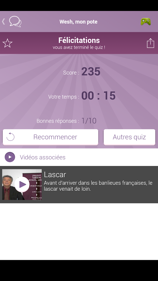 Merci Professeur !- screenshot