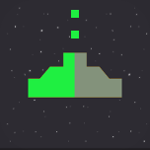 Space 8 bit - 8 stars ship gun