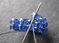 How to Stitch a Beaded Jewelry Cone