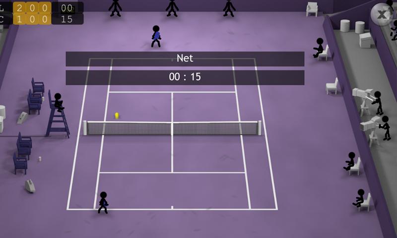 Stickman Tennis screenshot #8