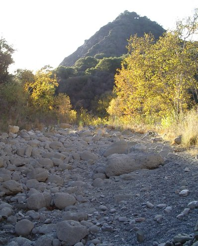 A bit of very dry Santa Ynez River.