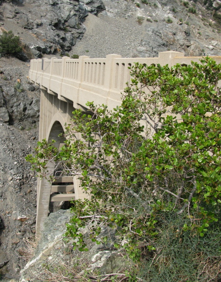 Another view of the bridge, the high side.