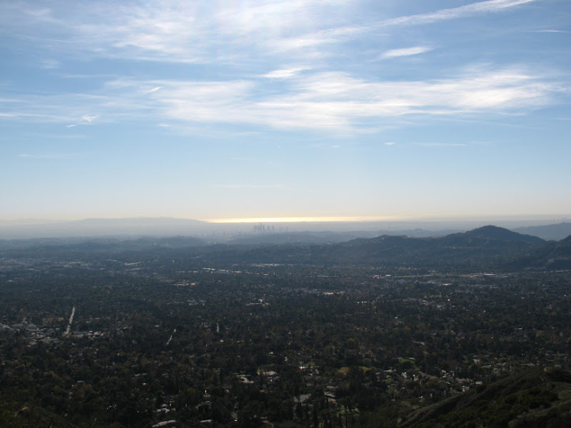 Altadena, Pasadena, LA, Catalina, Pacific Ocean from the bottom to the top.