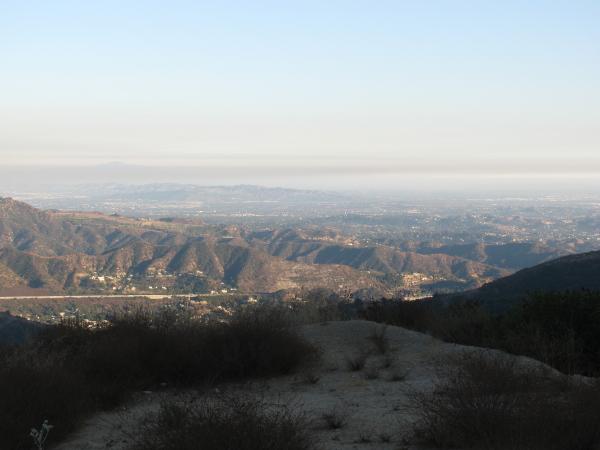 The air over Pasadena.
