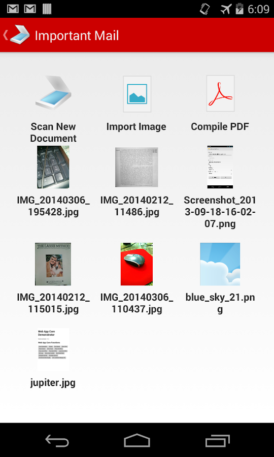 PDF Document Scanner - screenshot