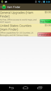 Ham Finder - screenshot thumbnail