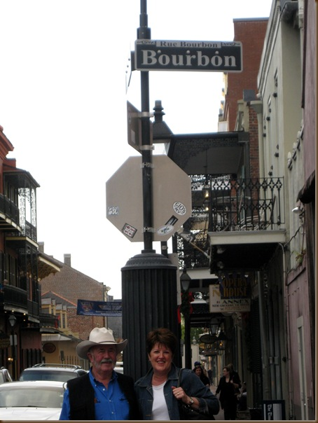 Us on Bourbon Street Picasa