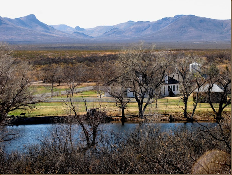 Slaughter Ranch House and grounds