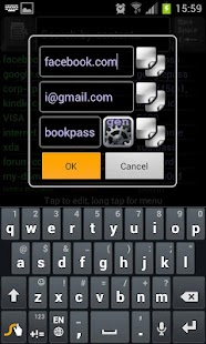 KeyRing Password Manager - screenshot thumbnail