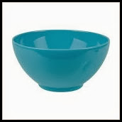 Small Serving Bowl in Turquoise