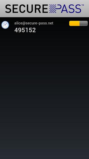 SecurePass Token