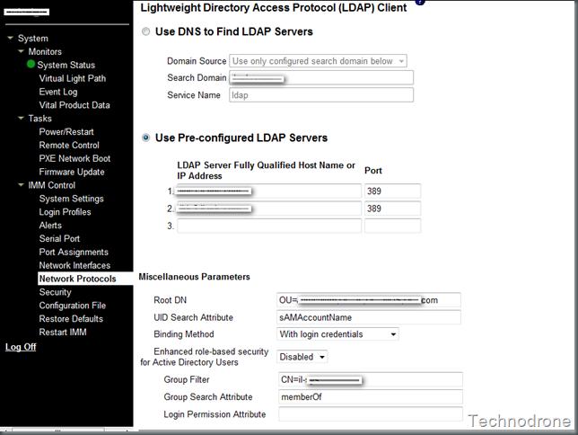 IBM IMM integration into AD | Technodrone