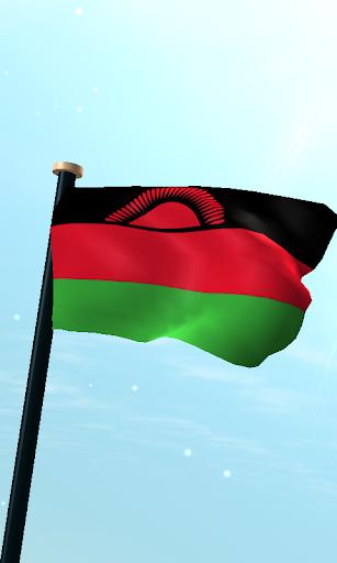 馬拉維旗3D免費動態桌布
